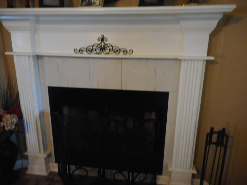 Garage - Fireplace - Sugarland Home Inspection